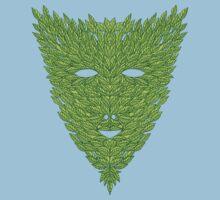 Green Man Mask Kids Clothes