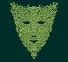 Green Man Mask by SusanSanford