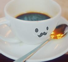 Mustache Espresso by Indea Vanmerlin