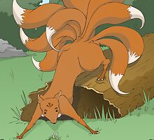Creature Feature - The Kitsune by TheWhaleBaby