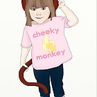 Cheeky Monkey by arumfaerie