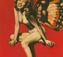 Vintage Fairy Pin-up by mictomart