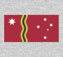 Australian Red Ensign Flag Proposal by cadellin
