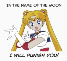 Sailor Moon punish in the name of the Moon by Nagareboshi