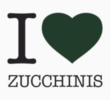 I ♥ ZUCCHINIS Kids Clothes