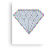 Rainbow Diamond Canvas Print