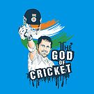 Sachin God of Cricket by Saksham Amrendra