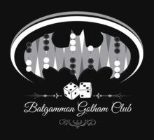 Batgammon Gotham club by alexMo