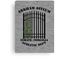 Arkham Asylum, Inmate: Poison Ivy  Canvas Print