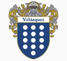Velasquez  Coat of Arms/Family Crest by William Martin