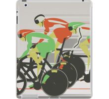 Velodrome bike race iPad Case/Skin