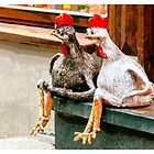 Old Town Chickens by Yevgeni Kacnelson