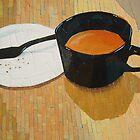 """Coffee shop"" by Richard Robinson"
