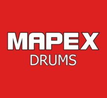 Mapex Drums White decoration Clothing & Stickers by goodmusic