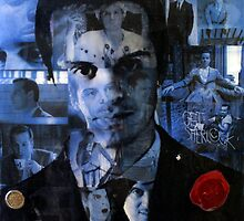Mixed Media Moriarty by ShosannaDetail