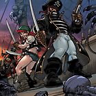 Zoombies on Deck - Trader Jack and Mad Martha by traderjacks