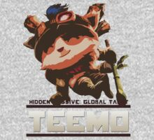 Global Taunt: Teemo. by Vallahar