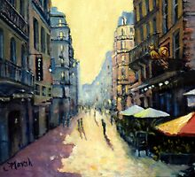L'escargot on Rue Montorgueil,  Paris,  France  by marshstudio