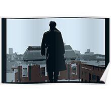 Reichenbach Fall Poster