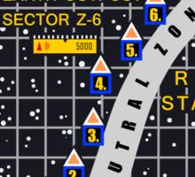 Romulan Neutral Zone Sticker