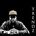 Trendz CD Cover Art by DeeZ (D L Honeycutt)
