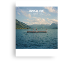 Kodaline Album Cover (In A Perfect World) Canvas Print