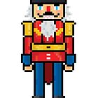 Nutcracker - V:IPixels Holiday Collection by Victor  Dandridge