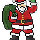 Santa Claus - V:IPixels Holiday Collection by Victor  Dandridge