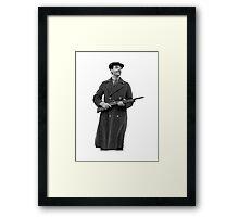 Richard Harrow from Boardwalk Empire (PLAIN) Framed Print