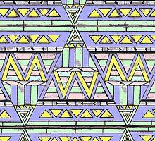 aztec triangle by Corsicanartlab