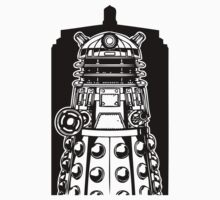 Dalek by Kasaey Bird's