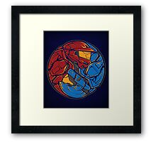The Tao of RvB Framed Print