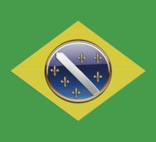 Bosnia-2014 World Cup-Brazil Flag by MGraphics