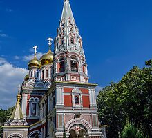 Gorgeous church by Tilyo Rusev