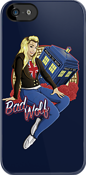 The Bad Wolf - Iphone Case #1 by TrulyEpic