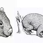 Wombats by SnakeArtist