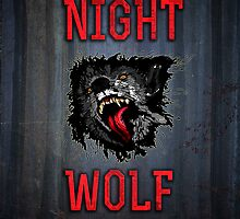 Scary Night Wolf by crouchingpixel