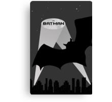 I'm Batman - Arkham Skyline Canvas Print