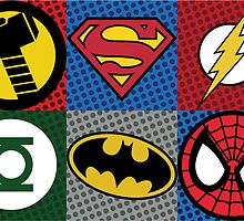 Your Superhero Wall by dhellebaut