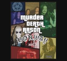 Murder Death Arson: Norway by EvilutionE5150