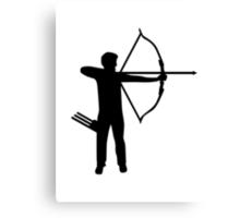 Archery archer Canvas Print