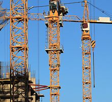 tower cranes by mrivserg