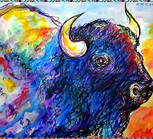 Buffalo, Dying Breed by M C  Sturman
