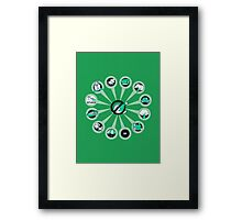 Where I Like Them - Green Eggs and Ham Framed Print