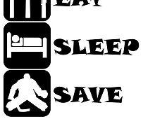 Eat Sleep Save by kwg2200