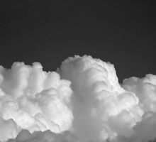 Clouds in Black and White by Sue Morgan