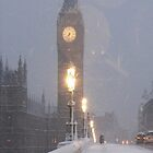 Snowing London by mitchlx