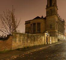 Autumn's night in Glasgow by Loustalot