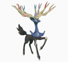 Xerneas Pokemon X by kyubara