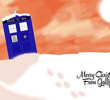 Gallifrey snow scene (With Text) by TesniJade
